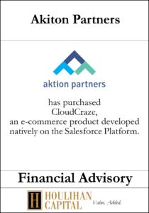 Akiton Partners - Financial Advisory Tombstone