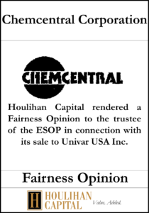 Chemcentral Corporation Tombstone
