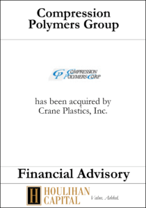 Compression Polymers Group - Financial Advisory Tombstone