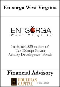 Entsorga West Viriginia - Financial Advisory Tombstone