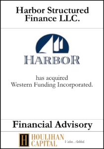 Harbor Structured Finance - Financial Advisory Tombstone