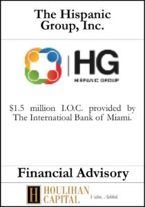The Hispanic Group - Financial Advisory Tombstone