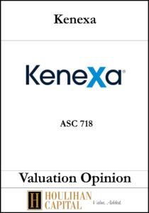Kenexa - ASC 820 - Valuation Opinion Tombstone