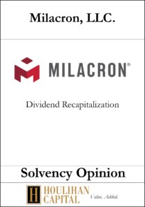 Milacron LLC - Solvency Opinion Tombstone