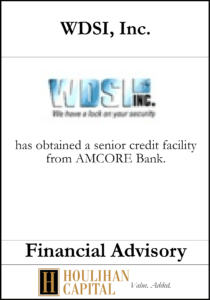 WDSI - Financial Advisory Tombstone