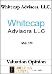Whitecap Advisors - ASC 820 - Valuation Opinion Tombstone