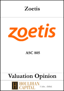 Zoetis - ASC 805 - Valuation Opinion Tombstone