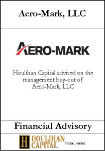 Aero-Mark - Financial Advisory Tombstone