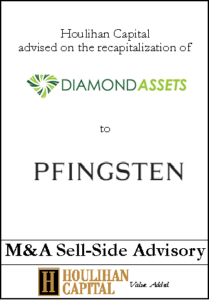 Diamond Assets - Financial Advisory Tombstone