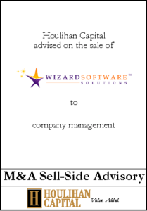 Wizard Software Solutions - Financial Advisory Tombstone
