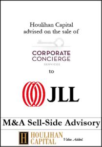 Corporate Concierge - Financial Advisory Tombstone