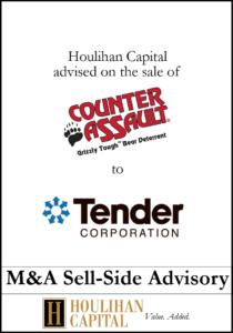 Counter Assault - Financial Advisory Tombstone
