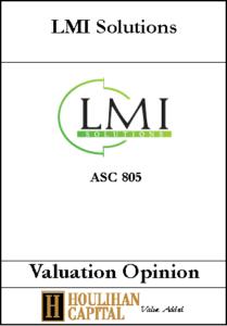 LMI Solutions - ASC 805