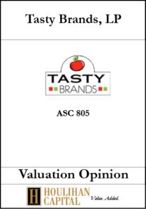 Tasty Brands - ASC 805