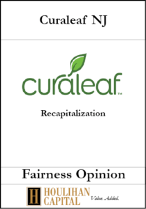 Curaleaf NJ - Fairness Opinion